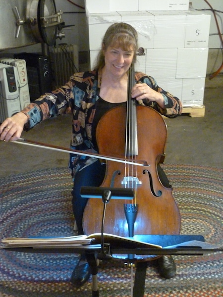 Camaraderie Cellars Gig - Moore Cello Blessings