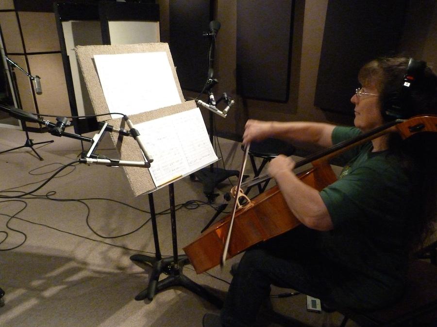 Recording Studio with Marlene Moore 2015